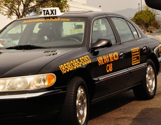 Solana beach Airport Cab